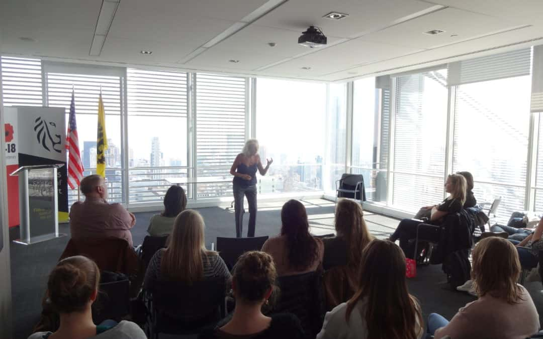 Dr Joffe Ellis Teaches REBT At Flanders House NYC
